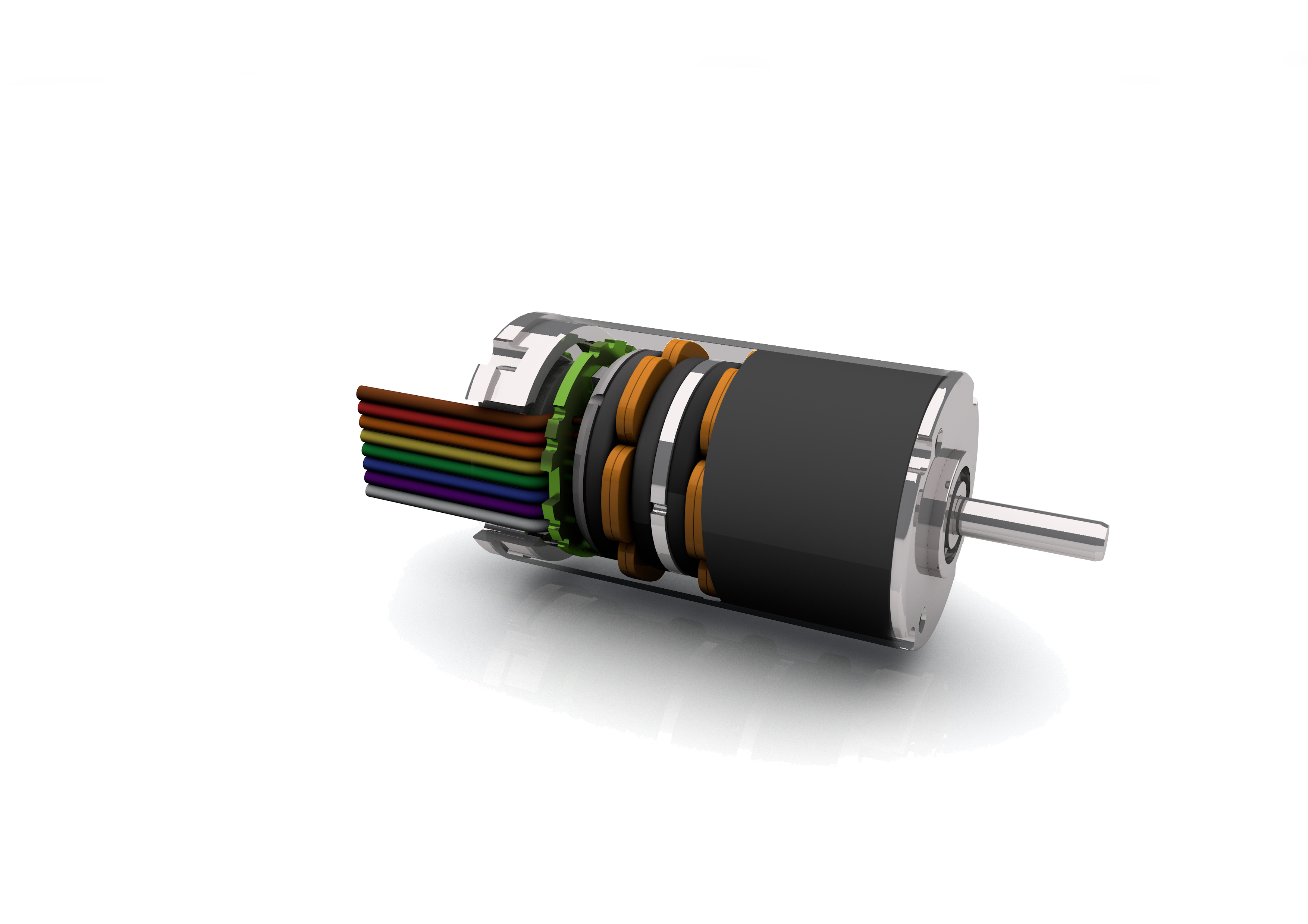 Brushless dc motor with axial flux design news for Dc brushless motor design